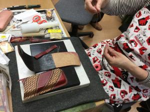 ペンケース レザークラフト教室 革工芸教室