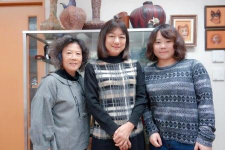 台湾からの受講 レザークラフト教室 革工芸教室