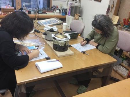 トレス レザークラフト教室 革工芸教室