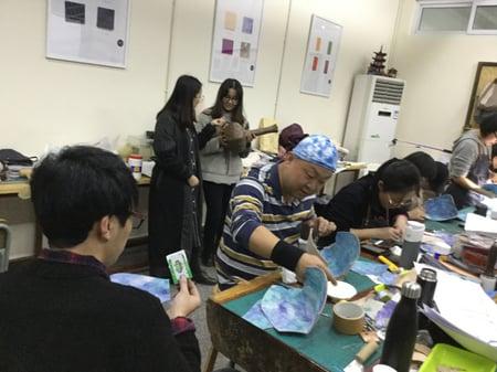 講習会造形開始 レザークラフト教室 革工芸教室