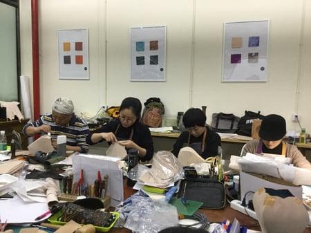 北京講習造形−2 レザークラフト教室 革工芸教室