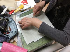 仕立て レザークラフト教室 革工芸教室