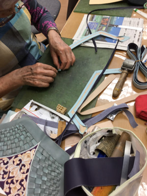 バッグ仕立て レザークラフト教室 革工芸教室