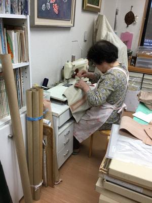 革ミシン レザークラフト教室 革工芸教室