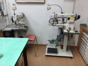 ミシン配置 レザークラフト教室 革工芸教室