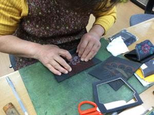 ハンディパース レザークラフト教室 革工芸教室