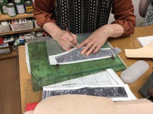 バッグ製作 レザークラフト教室 革工芸教室