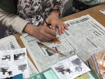 レザー干支 レザークラフト教室 革工芸教室