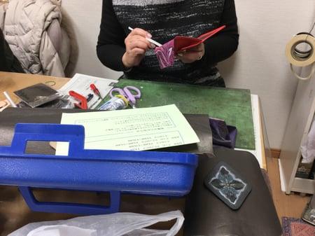 小物制作 レザークラフト教室 革工芸教室