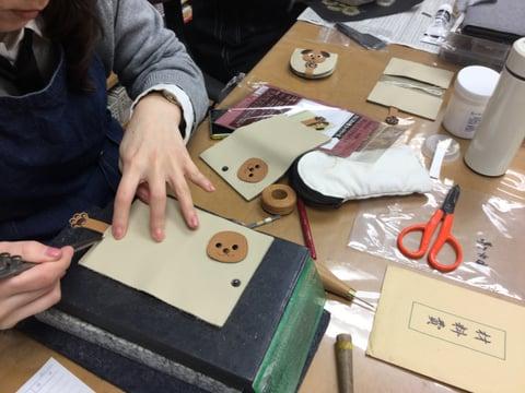 干支のパスケース レザークラフト教室 革工芸教室