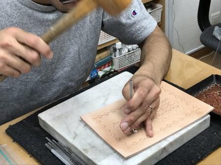ペントレー レザークラフト教室 革工芸教室