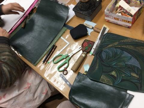 リュック レザークラフト教室 革工芸教室
