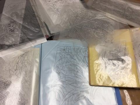 図案整理 レザークラフト教室 革工芸教室
