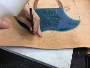 新しい刻印 レザークラフト教室 革工芸教室