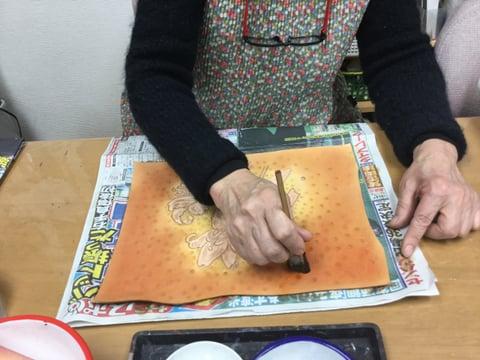 染色 レザークラフト教室 革芸教室