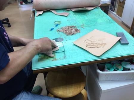 パッキング レザークラフト教室 革工芸教室