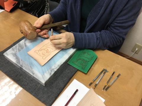 キーケース レザークラフト 教室 革工芸教室