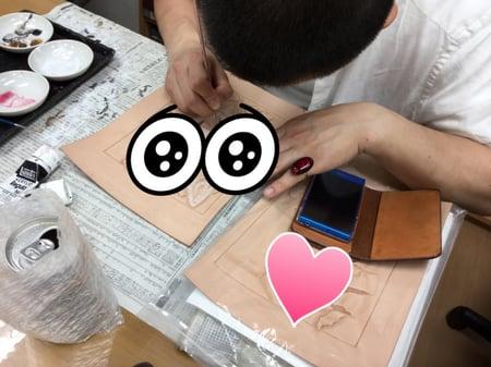 コンテスト作品 レザークラフト教室 革工芸教室