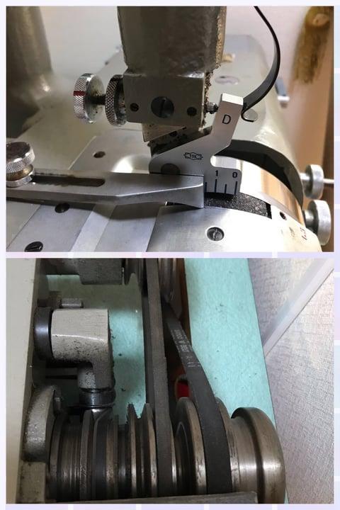 革漉き機部分 レザークラフト教室 革工芸教室