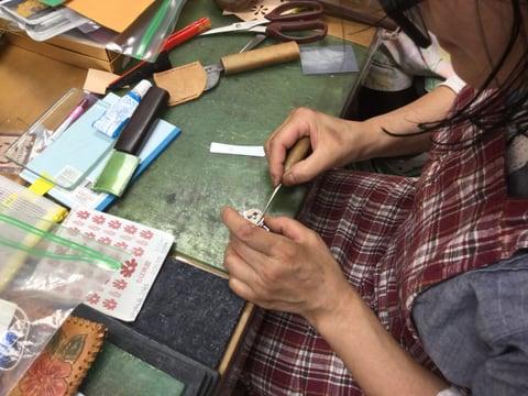 キーリール レザークラフト 教室 革工芸教室