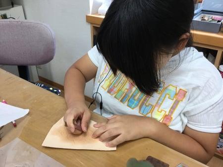 カービング レザークラフト教室 革工芸教室