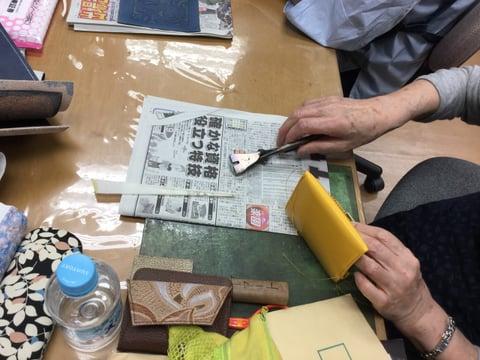 ハンディパース レザークラフト 教室 革工芸教室