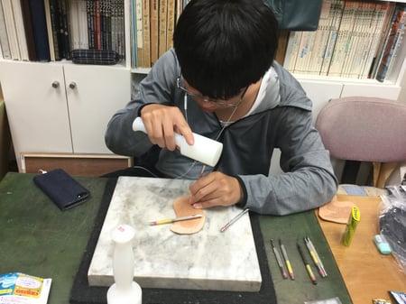 パーツカービング レザークラフト教室 革工芸教室