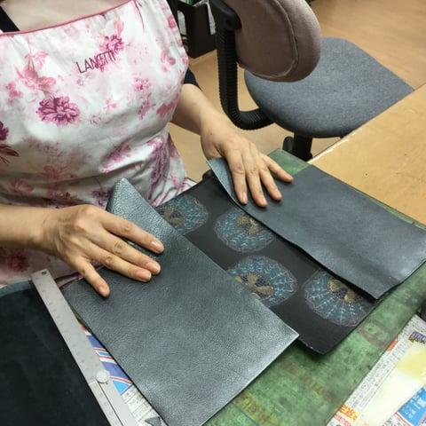 バッグ仕立て レザークラフト教室 革工芸教