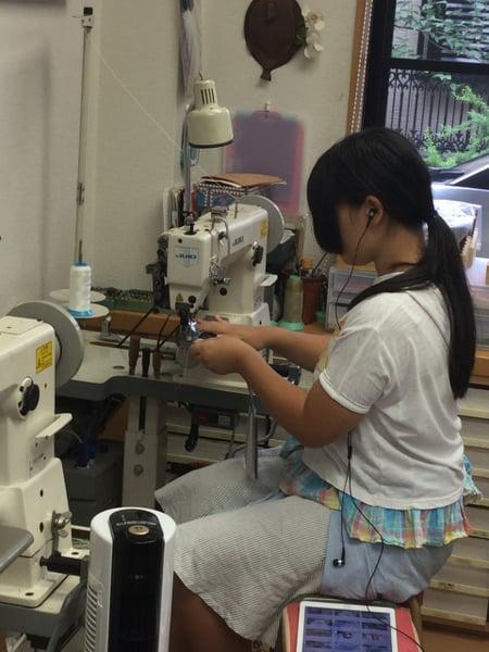 ミシン レザークラフト教室 革工芸教室