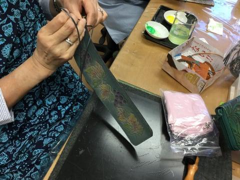ナイフケース レザークラフト 教室 革工芸教室