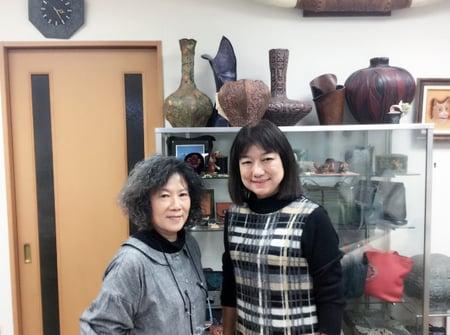 王維明さんと レザークラフト教室 革工芸教室