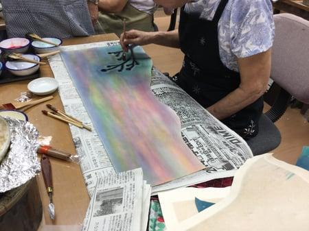 絵部分 レザークラフト教室 革工芸教室