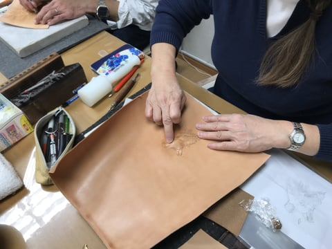 フィギャカービング レザークラフト教室 革工芸教室