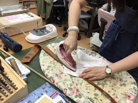 革のネクタイ レザークラフト教室 革工芸教室