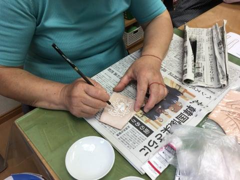 ワンポイント レザークラフト教室 革工芸教室