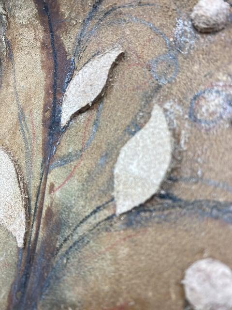 葉の革漉き レザークラフト教室 革工芸教室