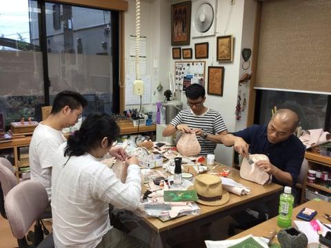 立体造形−3 レザークラフト教室 革工芸教室