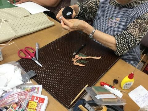 革象嵌 レザークラフト教室 革工芸教室
