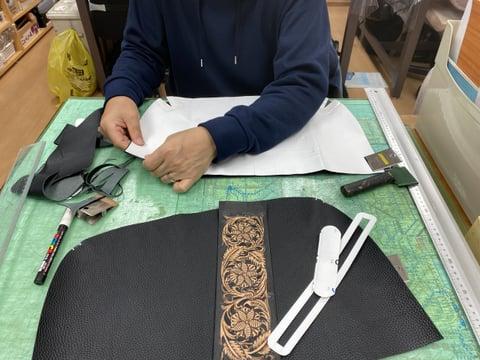 カービングバッグ レザークラフト教室 革工芸教室