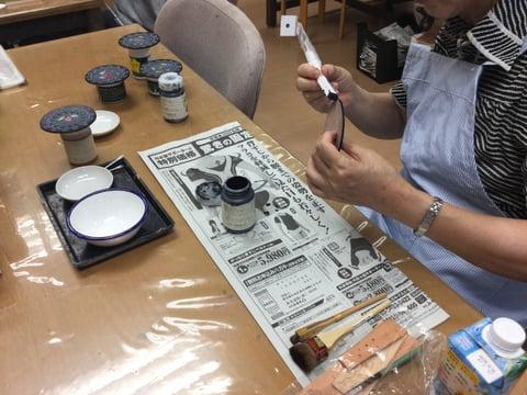 コースター仕上げ レザークラフト教室 革工芸教室