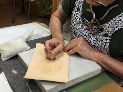 マネートレー レザークラフト教室 革工芸教室