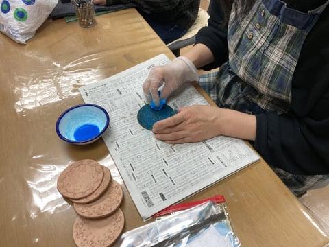 コースター レザークラフト教室 革工芸教室