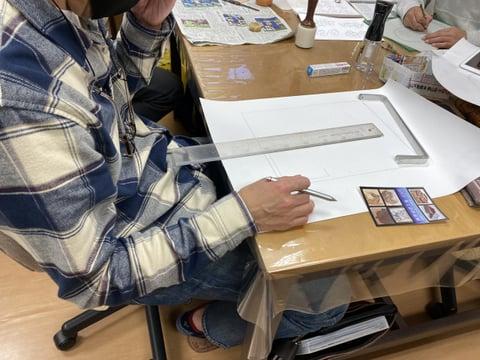 ダレスバッグデザイン レザークラフト教室 革工芸教室