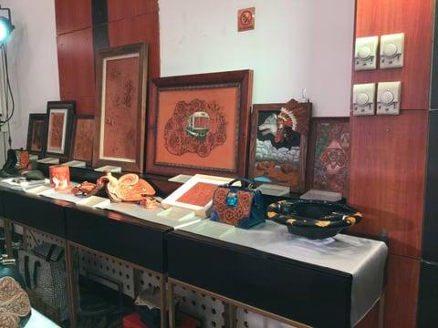 コンテスト会場風景6 レザークラフト教室 革工芸教室