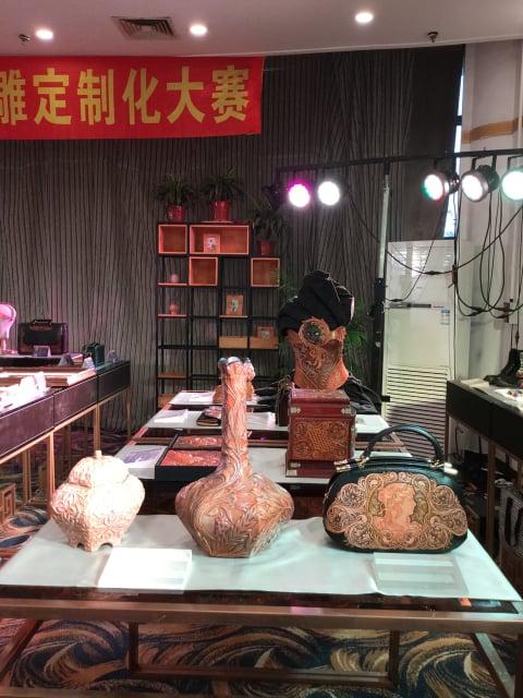 コンテスト会場風景5 レザークラフト教室 革工芸教室