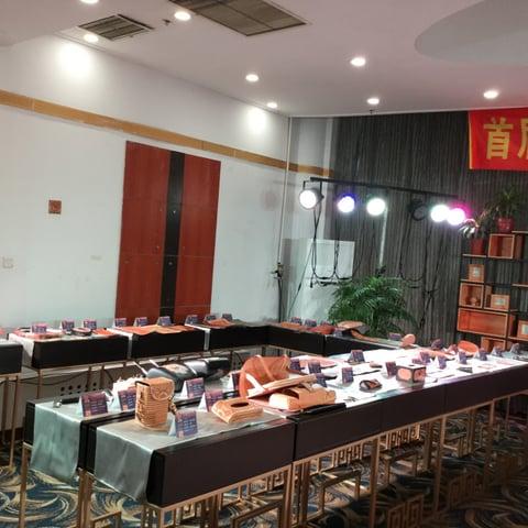 コンテスト会場風景3 レザークラフト教室 革工芸教室