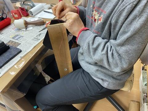 手縫い レザークラフト教室