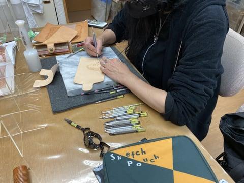 フィギュアカービング レザークラフト教室 革工芸教室