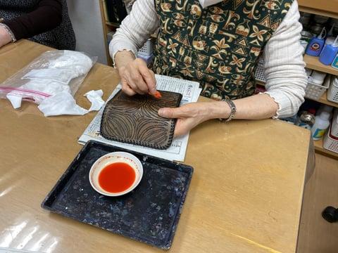革製品の手直し レザークラフト教室 革工芸教室