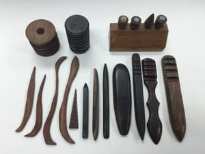 レザークラフト コバ磨きの道具